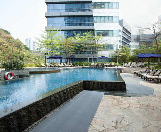 The Pool at the Le Meridien Cyberport