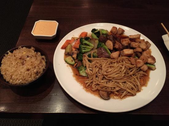 Samurai's Cuisine: Hibachi chicken and steak