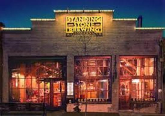 Standing Stone Brewing Company: Front