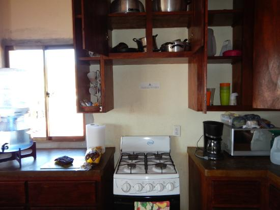 "La Terraza Guest House: Here is your ""gourmet"" kitchen"