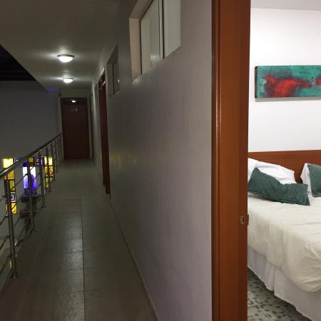 Hotel Tayrona: Pasillo
