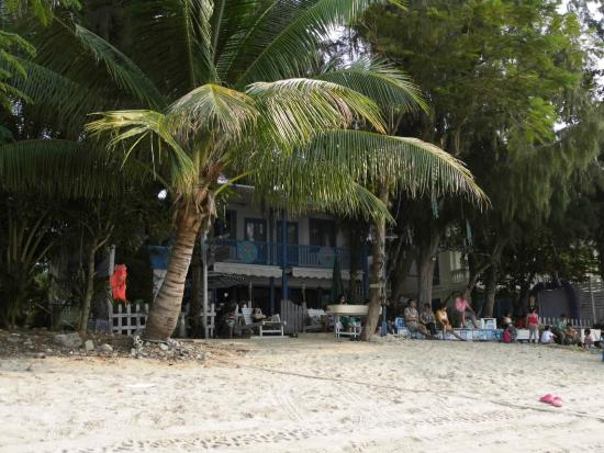 Tiannan Holiday Inn Sanya Luhuitou : Tiannan Inn Hotel Sanya, Hotel unter Palmen: hippie-esk!!!