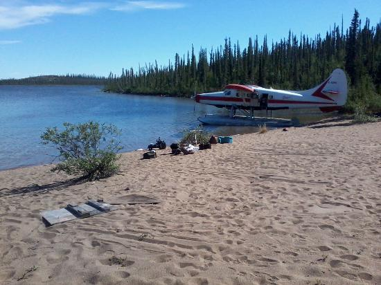 Plummer's Arctic Lodges: daily fly outs