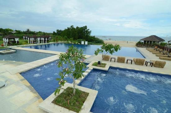One Laiya Beach Resort Pools
