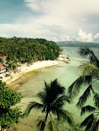 Nami Boracay: the view of station 1 from Nami Restaurant