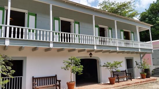 Front of the main house @ Hacienda Buena Vista, Ponce