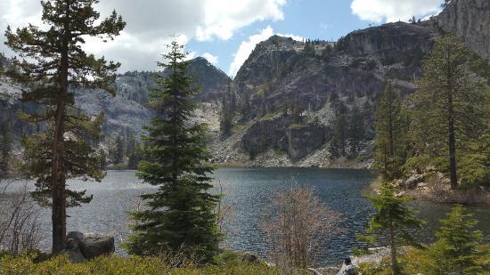 Eagle Falls: View when you reach the lake