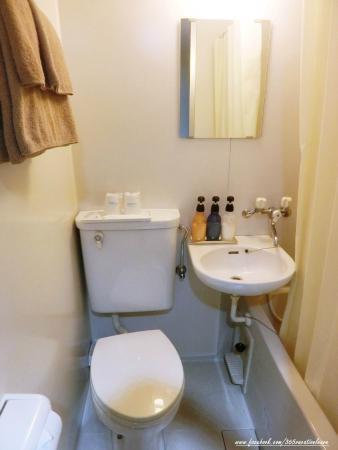 Hotel New Tohoku: ห้องน้ำ