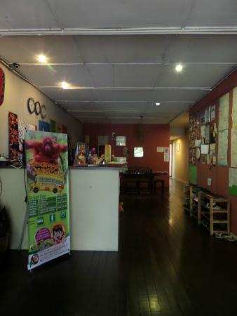 Wo Jia Lodge: รีเซฟชั่น ห้องทานข้าว
