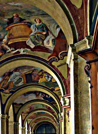 Prague Photo Tours: Some of the worlds best Fresco Paintings can be found in Prague (Loreto Church)