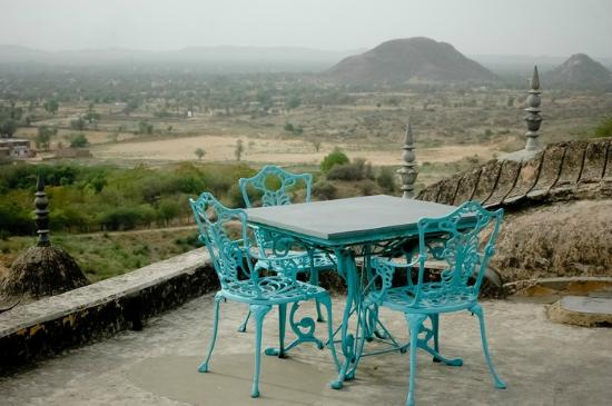 Neemrana Fort-Palace: View at the top