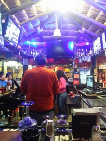 Cabo Blue: Best bartenders in town! In the Plaza Real!