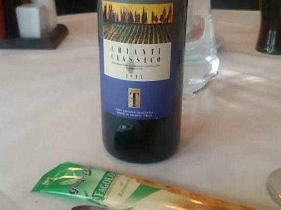 Amici: Great meal and wine