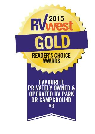 Bridgeview RV Resort : Holiday Trails RV Resorts Alberta locations were selected as the top two favorites in Alberta