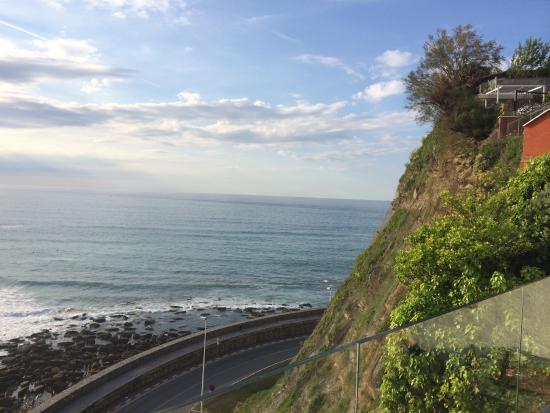 Saiaz Getaria Hotel: Terrasse vue mer pour l apero