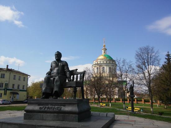 Monument to Nikolai Semenovich Leskov