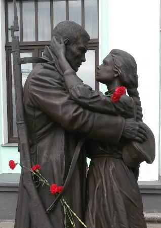 Monument Farewell of Slavyanka