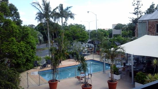 BEST WESTERN PLUS Gregory Terrace Brisbane : Vue sur la Piscine