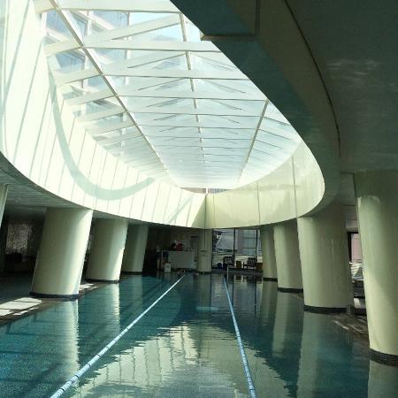 Indoor Swimming Pool Futuristic Picture Of The Westin Chosun Seoul Seoul Tripadvisor