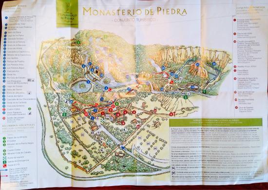 Mapa Picture Of Parque Jardin Historico Monasterio De Piedra