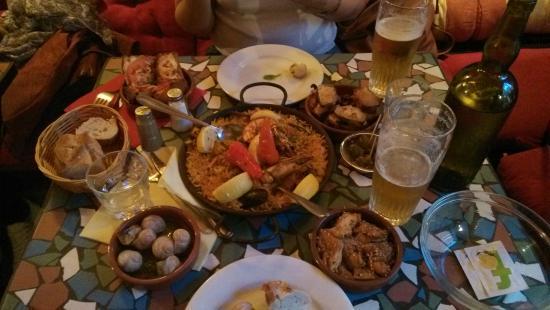 La Peña Andaluza: foood
