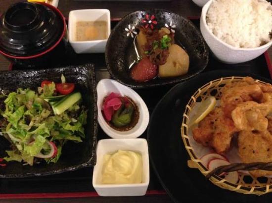 Somerset Jiefangbei Chongqing: Nice food at their Japanese restaurant