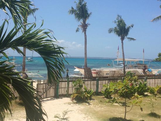 Cocobana Beach Resort: Вид с веранды