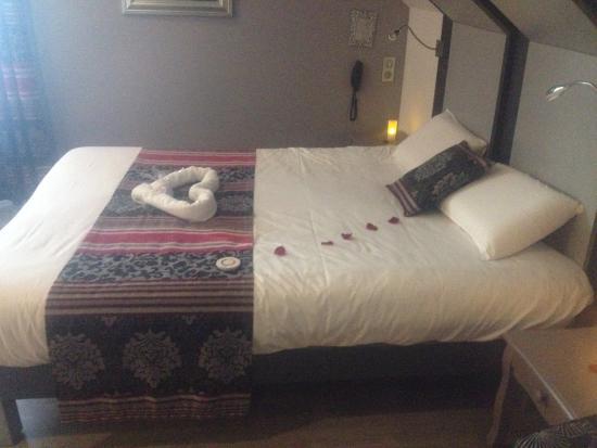 Oasis Hotel: À notre arrivee