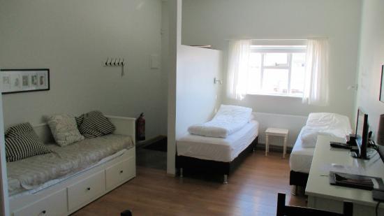 Egils Guesthouse: Beds