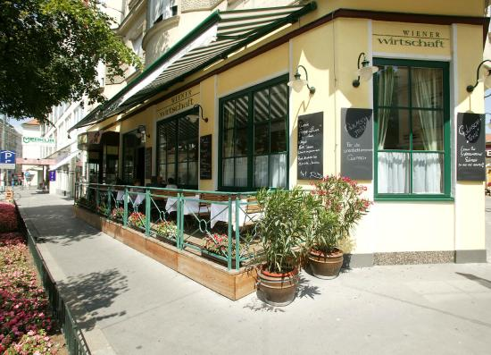 Restaurant Wiener Wirtschaft : Gastgarten