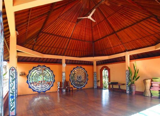 Shankari's Bali Retreat: Seminar room, also suitable for yoga.