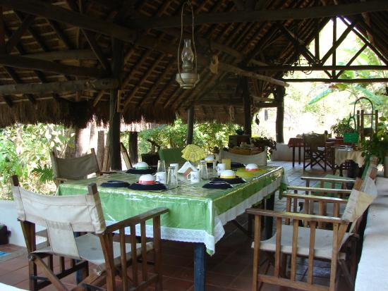 The Hermitage Guesthouse : Beautiful dining place