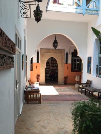 Riad Watier: Le patio