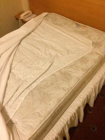 Middletons York: Re making the bed at 11.30pm