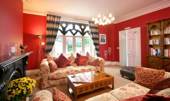 Ffarm Country House: The Drawing Room