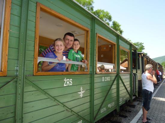 Sargan Eight Railway: The kids will love it