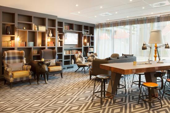 lobby bar Bilde av Scandic Byporten i Oslo Tripadvisor