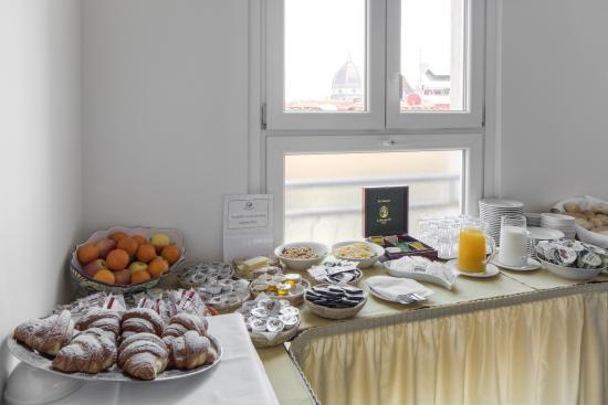 Hotel Cantoria: buffet