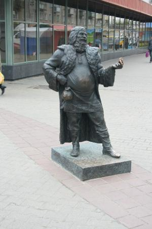 Sculpture Potolsk Merchant