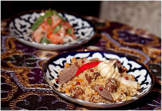 Granats Restaurant: Отличный плов, почти как настоящий узбекский плов