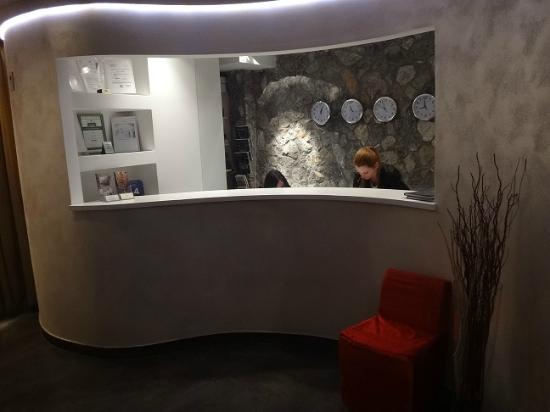 Hotel Astoria : Reception