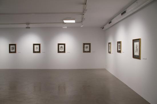 Genalguacil, España: Exposición de 18 obras de Picasso. Foto Jesús Madriñan