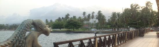 Hotel O Bigodes: View of the bay
