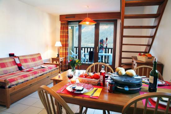 Nemea Residence La Soulane: Salon/salle à manger logement