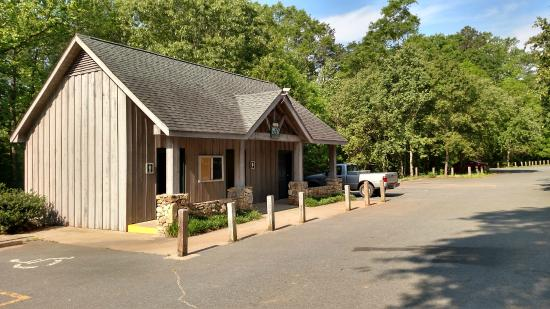 Boiling Springs, Carolina del Norte: Ranger Station at Broad River Greenway