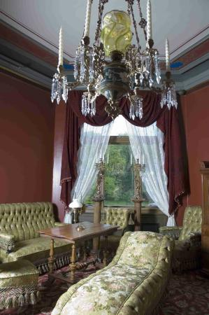 The Ibsen Museum : The red drawing room