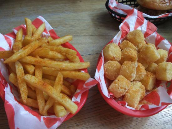 The Sinners Club: fries and tots