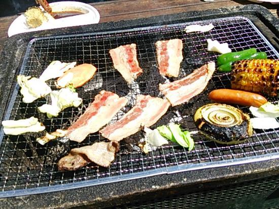 Hakuba 47 Winter Sports Park : 5月はバーベキュー日和ですね