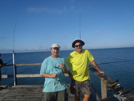 Fees picture of redington fishing pier redington shores for Fishing piers near me