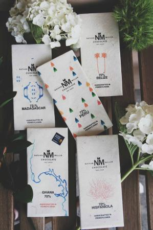Nathan Miller Chocolate: A collection of our single origin dark chocolates including our award winning Ghana 70% dark.